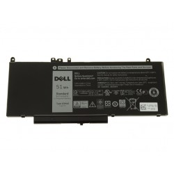 Dell Dell Latitude E5450, E5470, E5550, E5570 BATTERY ACCU 7.6V 62Wh Type 6MT4T